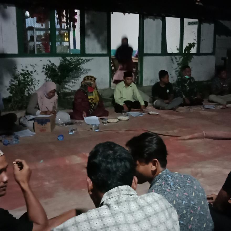 Reorganisasi Karang Taruna Dusun Mahbeser